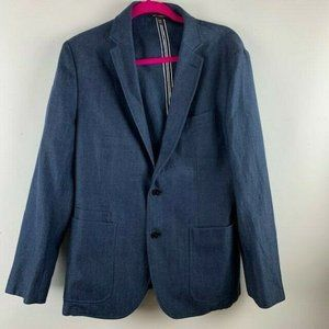 Banana Republic Mens Size 40S  Blazer Wool Linen